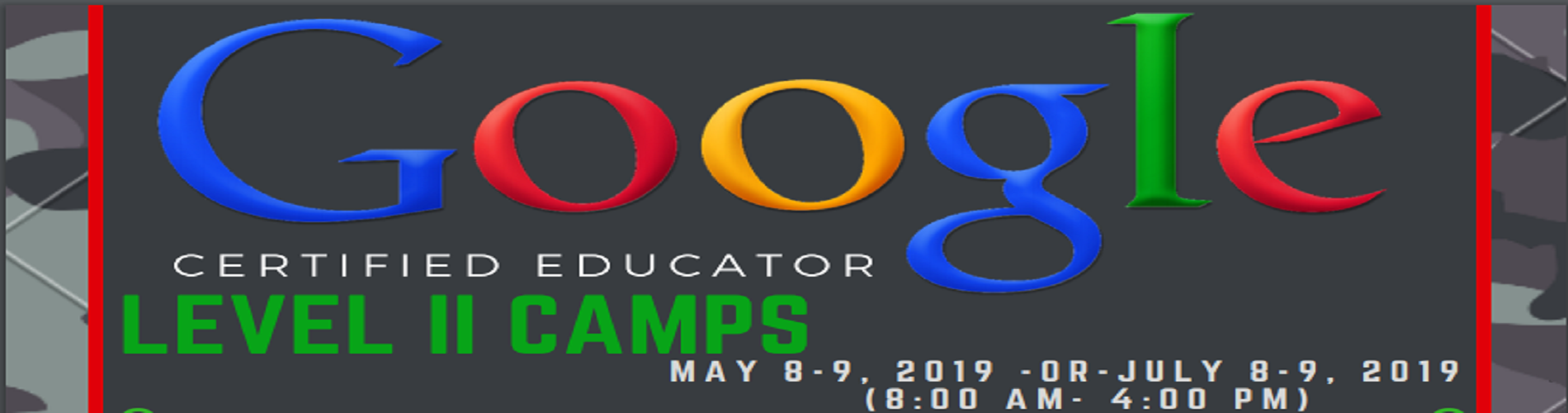 Google Level 2 Camps