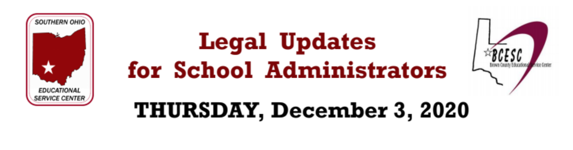 Legal Updates for School Administrators