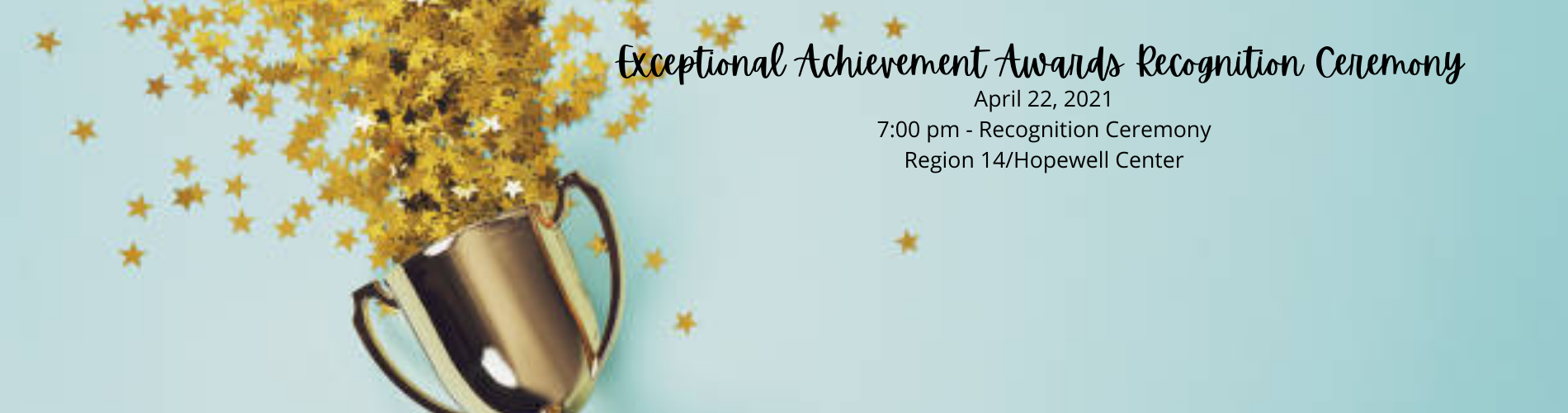 Exceptional Achievement Nominations